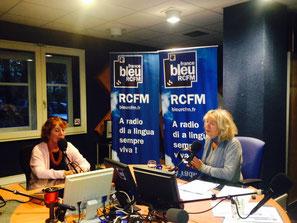 Marie-José Mondzain, présidente du jury, à la radio RCFM