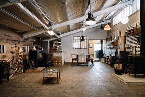 神奈川県厚木市薪ストーブ・ペレットストーブのショールーム