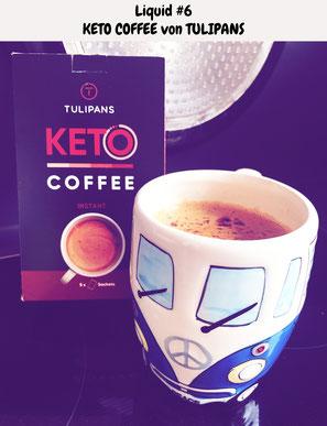 Keto Coffee Tulipans Travel Keto Tasting Produkttest bulletproof