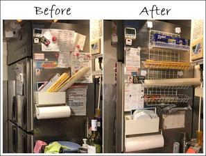 旭川整理収納アドバイザー佐々木亜弥 はぴごら HACCP対応 整理収納&改善整理作業