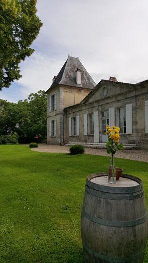 Château La Hitte à Lavardac dans le vignoble de Buzet