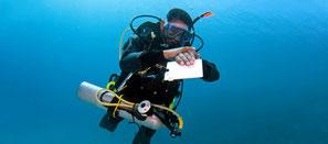 Plongeur autonome self reliant PADI specialité à Nusa Penida