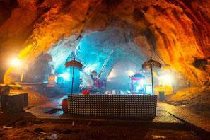 Cave du temple de Goa giri putri