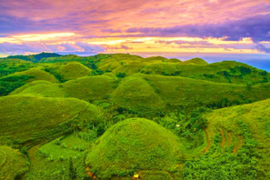 Panorama de teletubbies hill à Nusa Penida