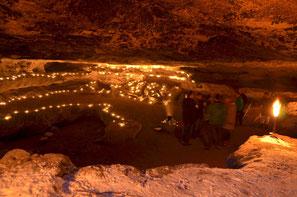Lichterhöhle in der Sächsischen Schweiz