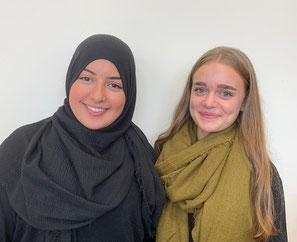 Salma und Aleyna (Klasse 9)