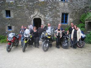 Le Kreiz-Breizh à moto