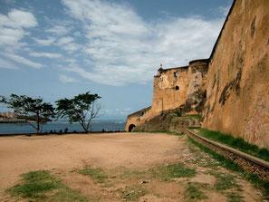 Fort Jesus in der Altstadt von Mombasas
