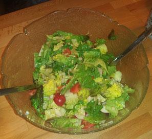 Salatsosse mit SoloCoco Kokosöl zubereiten Rezept