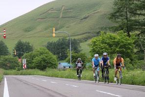 「牛」の字がある有名なモアン山。