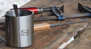 Materialien für das Herstellen eines eigenen Messers
