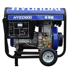 Hyundai | Generación | Generadores diesel