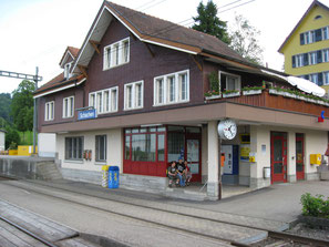 Theorieraum im Bahnhof