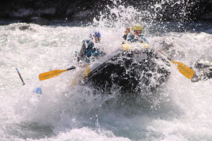 nage en eau vive canoe rafting white water durance guil ubaye
