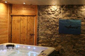 sauna spa jacuzzi musique