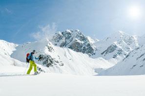 balade randonnée raquettes a neige nature ubaye guil paysages contemplation bucolique
