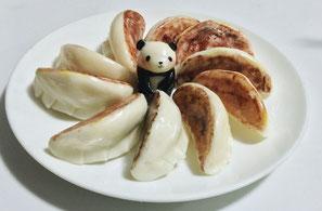 飴細工(餃子 パンダ)