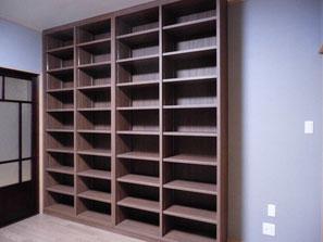 オーダー家具:本棚