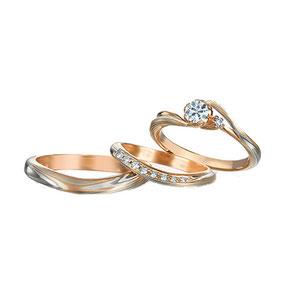обручальные и помолвочные кольца мокуме гане