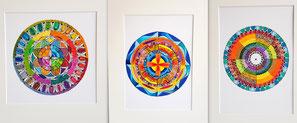 Kreisbilder Mandala Muster Formen