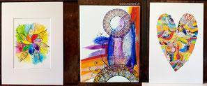Kunst  Bilder farben Formen punkt muster dot