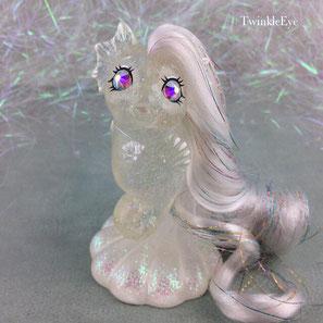 mylittlepony mlpg1 Seahorse custom pony mermaid doll cute crystal swarovski