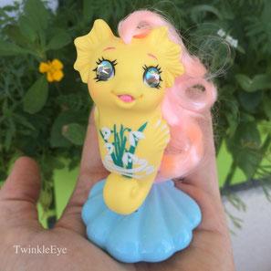 #120 Baby Sea Pony Snowdrop - alternate version (06-2016)