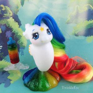#168 Baby Sea Pony - Starlite (06-2017)
