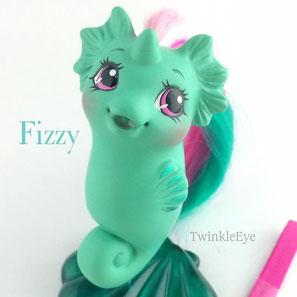 #mylittlepony #fizzy #custom #seapony #seahorse #fimo #twinkleeye