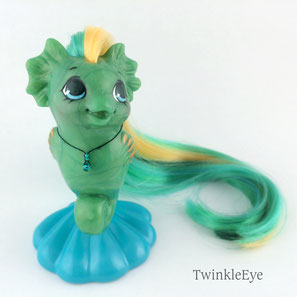[Limited Edition]#81.1-81.4 Baby Sea Pony Jade (01-2016)