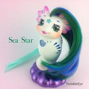 #mylittlepony #mlp #seapony #seahorse #twinkleeye #custom #monpetizponey #miominipony #mipequenopony