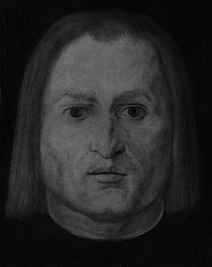 (3) La tecnica della riflettografia infrarossa permette di portare alla luce i disegni di base