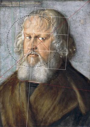 (32) Ritratto di Hieronymus Holzschuher, 1526, olio su tavola di tiglio, 51 x 31,1 cm, n. invent. 557E, Galleria dipinti / Staatliche Museen Berlino