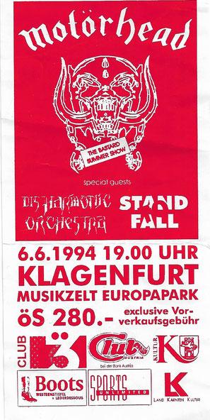 Motörhead, Klagenfurt, Lemmy Kilmister