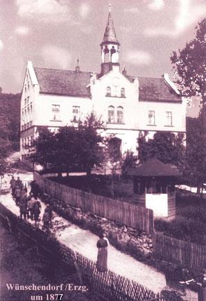 Bild: Teichler Wünschendorf Erzgebirge Schule