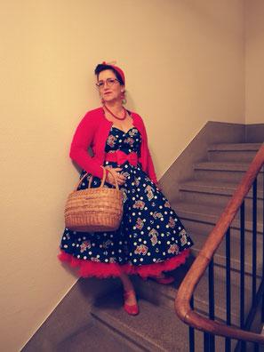 Annakonda Rockabilly&Vintage Store Luzern Hellbunny Popsoda Rockabilly Dress Anchor Sailor