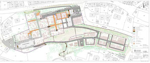 Umgestaltung Areal Stadtfriedhof Plochingen Befliegung Drohne Orthomosaic Bild