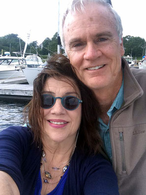 February 2016 : Jane with her fiancee - Bob Mossman at Nova Scotia, Canada