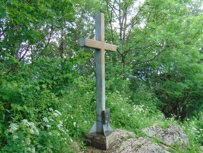 Gipfelkreuz vom Hirschwaldstein