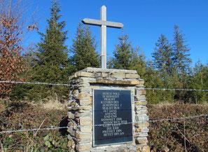 Gipfelkreuz am Hongar