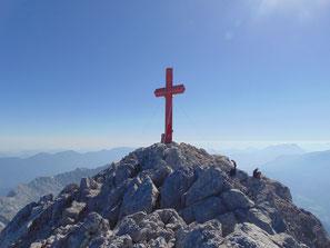 Gipfelkreuz des Großen Priel
