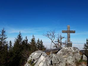 Hohe Mauer Gipfelkreuz, Windhagkogel, Grünauberg