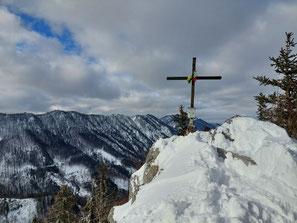 Schabenreitnerstein Gipfelkreuz