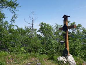 Schellenstein Gipfelkreuz