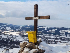 Bräumauer Gipfelkreuz, Almtal, Maisenkögerl