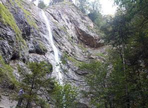 Nixenfall im Weißenbachtal