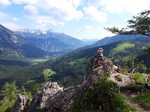 Hagstein im Stodertal, Teil des Stoderer Dolomitensteiges