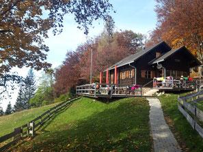 Mollner Hütte, Weiterwanderung auf Dürres Eck und Gaisberg