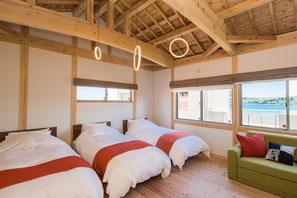 いちあかり Ichiakari 寝室 ベッド