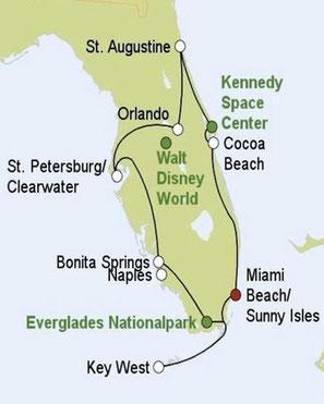 Mietwagenreise Florida intensiv